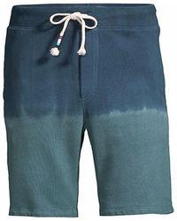 Sol Angeles Dip-dye Sweat Shorts - Green