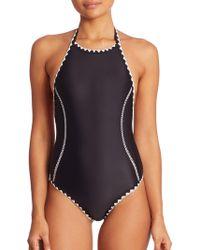 Same Swim   One-piece Hour Glass Swimsuit   Lyst