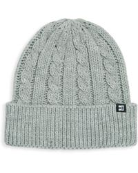 Block Headwear Cable Knit Cuff Beanie - Gray