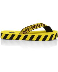 Off-White c/o Virgil Abloh Industrial Flip Flop - Yellow