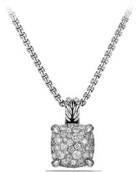 David Yurman - Chatelaine Pendant Necklace With Diamonds - Lyst
