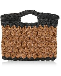 Carrie Forbes Ruby Synthetic Raffia Tote Bag - Multicolor