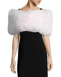Saks Fifth Avenue - Julia & Stella Fox Fur Wrap - Lyst