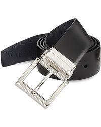 Prada   Cinture Leather Belt   Lyst