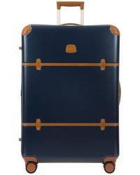 Bric's Bellagio 2.0 30 Inch Rolling Spinner Suitcase - Blue