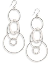 Ippolita | 925 Classico Large Mixed Links Jet Set Earrings | Lyst