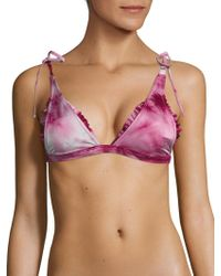 Made By Dawn - Traveler Bikini Top - Lyst