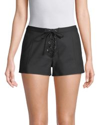 Ramy Brook - Camden Lace-up Shorts - Lyst