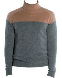 Eleventy - Men's Cashmere Turtleneck Jumper - Camel Grey - Size Xl - Lyst
