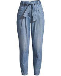 La Vie Rebecca Taylor Tie-waist Jeans - Blue
