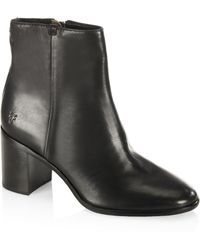 Frye | Julia Leather Ankle Boots | Lyst