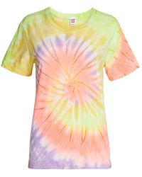 RE/DONE - 70s Tie-dye Loose-fit T-shirt - Lyst