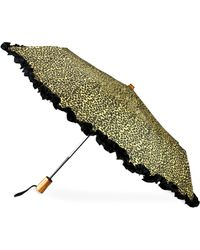 Saks Fifth Avenue - Ruffled Automatic Umbrella - Lyst