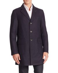 Sanyo - Wool Cashmere Blend Water-repellant Jacket - Lyst