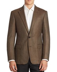 Armani - Virgin Wool & Cashmere Sportcoat - Lyst