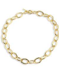 Ippolita - Glamazon 18k Yellow Gold Mini Bastille Link Chain Necklace - Lyst