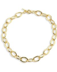 Ippolita - Women's Glamazon 18k Yellow Gold Mini Bastille Link Chain Necklace - Gold - Lyst