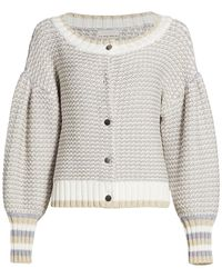 Ramy Brook Jack Button-front Cardigan - Gray