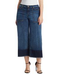 Marina Rinaldi - Idioma Denim Super Stretch Cropped Pants - Lyst