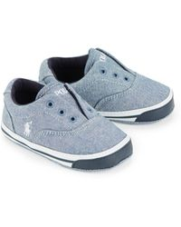 Ralph Lauren - Baby's Layette Vito Ii Chambray Slip-on Sneakers - Lyst