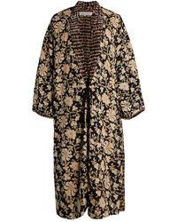 Free People Rumi Reversible Kimono - Black