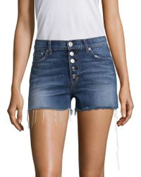 Hudson Jeans - Zoey High-rise Shorts - Lyst