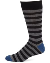 Saks Fifth Avenue - Collection Rugby Stripe Socks - Lyst