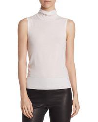 Saks Fifth Avenue - Collection Ribbed Off-the-shoulder Cashmere Jumper - Lyst