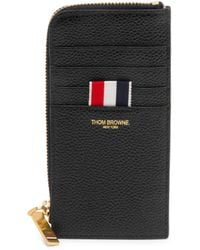 Thom Browne - Leather Card Case Wallet - Lyst