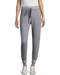 Zoe Jordan | Hitchcock Knitted Joggers | Lyst