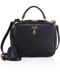 ce951a7b9082 Mark Cross - Women s Laura Baby Leather Camera Bag - Black - Lyst