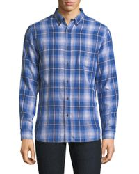 Surfside Supply - Plaid Cotton Casual Button-down Shirt - Lyst