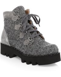 Tabitha Simmons - Neir Tie-up Boots - Lyst