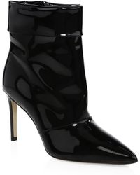 Paul Andrew - Banner Pointed Leather Ankle Boots - Lyst