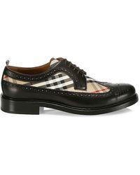 Burberry 'arndale' Lace-up Shoes - Black