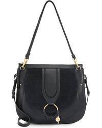 See By Chloé - Hana Large Leather Saddle Bag - Lyst