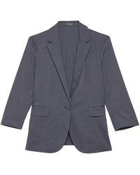 Theory Casual Eco Blazer - Blue