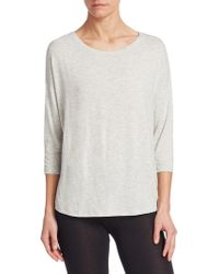 Majestic Filatures - Relaxed Pullover - Lyst