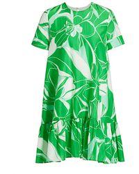 MILLY Brynn Stencil Floral Dress - Green