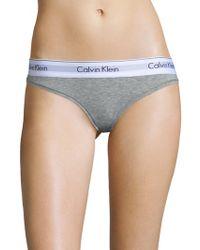 Calvin Klein - Modern Cotton Bikini - Lyst