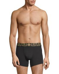 Versace - Iconic Two-pack Long Trunks - Lyst