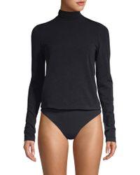 Wolford - Colorado Lax String Turtleneck Thong Bodysuit - Lyst