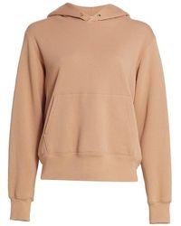 A.L.C. A.l.c. Sonia Hooded Sweatshirt - Natural