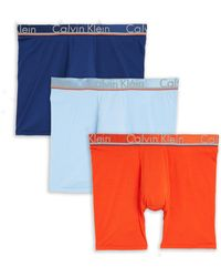 CALVIN KLEIN 205W39NYC - Three-pack Boxer Briefs - Lyst