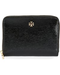 Tory Burch - Robinson Patent Zip Coin Case - Lyst
