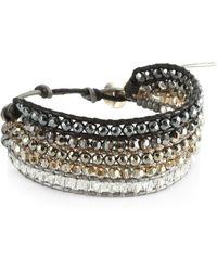 Chan Luu - Hematite Mix Bracelet - Lyst
