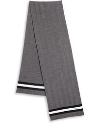 Bally | Striped Wool Scarf | Lyst
