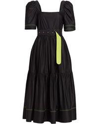 Tanya Taylor - Delilah Short Puff-sleeve Dress - Lyst