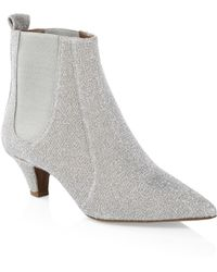 Tabitha Simmons - Effie Sequin Ankle Boots - Lyst