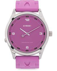 Kyboe - Martini Series Stainless Steel Watch - Lyst
